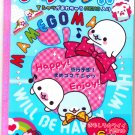 San-X Japan Mamegoma Notebook with Stickers (A) 2010 Kawaii