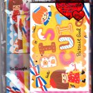 Crux Japan Biscuit Girl Letter Set Kawaii
