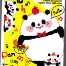 Q-Lia Japan Pam Pam Fam Mini Memo Pad Kawaii