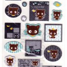 Sanrio Japan Chococat Denim Sticker Sheet 2008 Kawaii