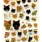 San-X Japan Iiwaken Stone Epoxy Sticker Sheet 2011 Kawaii