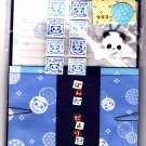 Q-Lia Japan Pandas and Balls Letter Set with Stickers and Hair Holder Rare Kawaii
