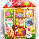 Kamio Japan Animal Mansion Sticker Sack Kawaii