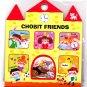 Kamio Japan Chobit Friends Sticker Sack Kawaii