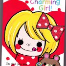 Daiso Japan Charming Girl Memo Pad Kawaii
