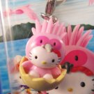 Sanrio Japan Hello Kitty Regional Sado Mascot Charm New in Box 2003 Kawaii