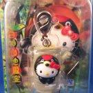 Sanrio Japan Hello Kitty Regional Mascot Charm Zipper Pull New in Box 2006 Kawaii