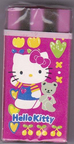 Sanrio Japan Hello Kitty Block Eraser 1996 Kawaii