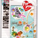 Kamio Japan Honey Forest Letter Set with Stickers Kawaii