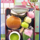 Iwako Japan Japanese Sweets Diecut Erasers Set of 5 with Tray Kawaii