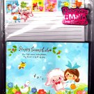 Kamio Japan Happy Sunny Life Letter Set with Stickers Kawaii