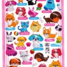 Crux Japan Pet Shop Hard Gel Sticker Sheet Kawaii