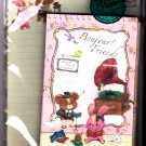 Kamio Japan Bonjour Friends Letter Set Kawaii