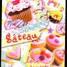 Kamio Japan Chouchou Gateau Mini Memo Pad Kawaii