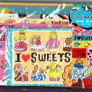 Crux Japan Little Sweets and Girl Letter Set with Stickers Kawaii