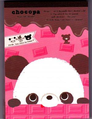San-X Japan Chocopa Memo Pad with Stickers (B) 2011 Kawaii