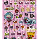 Kamio Japan Happy Sunny Epoxy Sticker Sheet Kawaii