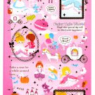 Kamio Japan Fairy Tale World Sticker Sheet Kawaii