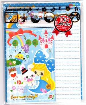 Crux Japan Love Sweet Story Letter Set with Stickers Kawaii