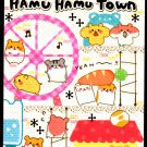 Crux Japan Hamu Hamu Town Mini Memo Pad Kawaii