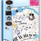 Mind Wave Japan Midnight Fantasia Letter Set with Stickers Kawaii