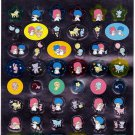 Sanrio Japan Kiki & Lala Little Twin Stars Foil Sticker Sheet 2006 Kawaii