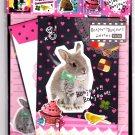 Q-Lia Japan Bonjour Bonjour Letter Set with Stickers Kawaii