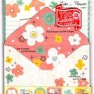 Crux Japan Like A Flower Letter Set with Stickers Kawaii
