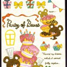 Crux Japan Party of Bears Mini Memo Pad Kawaii