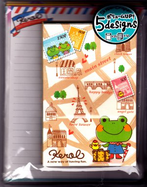 Kamio Japan Kerol Letter Set Kawaii
