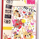 Mind Wave Japan Hello Hello Rabbit Letter Set with Stickers Kawaii