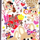 Mind Wave Japan Hello Hello Rabbit Memo Pad Kawaii