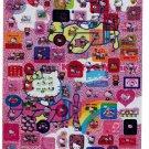 Sanrio Japan Hello Kitty 2 Jumbo Sticker Sheets 2005 Kawaii