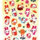 Q-Lia Japan Candy Village Sticker Sheet Kawaii