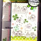 Crux Japan Clover&#39;s Town Letter Set Kawaii