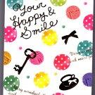 Crux Japan Your Happy & Smile Mini Memo Pad Kawaii