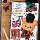 Kamio Japan Cheerful Andy London Letter Set Kawaii