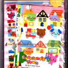 Wizard Japan Everyone's Town Letter Set with Stickers Kawaii