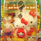 Sanrio Japan Hello Kitty Regional Mascot Charm Zipper Pull 2005 Kawaii