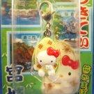 Sanrio Japan Hello Kitty Regional Mascot Charm Zipper Pull 2003 Kawaii