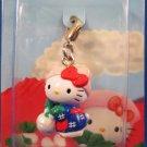 Sanrio Japan Hello Kitty Regional Mascot Charm Zipper Pull 2001 Kawaii