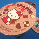 Sanrio Japan Hello Kitty Chocolate Cookie Eraser 2010 Kawaii