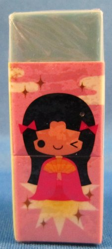 Kamio Japan Folklores Block Eraser Kawaii