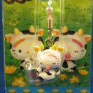 Sanrio Japan Hello Kitty Regional Mascot Charm Strap 2003 Kawaii