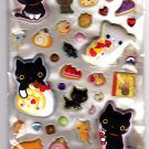 San-X Japan Kutusita Nyanko Marshmallow Sticker Sheet 2012 Kawaii