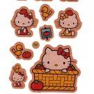 Sanrio Japan Hello Kitty Tomatoes Sticker Sheet 2004 Kawaii