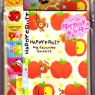 Pool Cool Japan Happy Fruit Letter Set with Stickers Kawaii