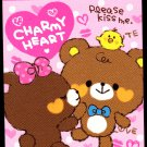 Pool Cool Japan Charmy Heart Mini Memo Pad Kawaii