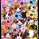 Crux Japan Shiny Stars 48 Mini Memo Pad Kawaii