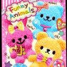 Kamio Japan Funny Animals Mini Memo Pad Kawaii